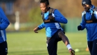 LEICESTER, ENGLAND - DECEMBER 08:  Ahmed Musa during the Leicester City training session at Belvoir Drive Training Complex on December 08 , 2016 in Leicester, United Kingdom.  (Photo by Plumb Images/Leicester City FC via Getty Images)