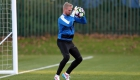 LEICESTER, ENGLAND - DECEMBER 08:  Kasper Schmeichel during the Leicester City training session at Belvoir Drive Training Complex on December 08 , 2016 in Leicester, United Kingdom.  (Photo by Plumb Images/Leicester City FC via Getty Images)